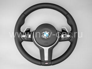 Спортивный M руль BMW 5 серия F10 с лепестками