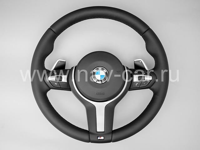 Спортивный М руль BMW X5 F15 с лепестками