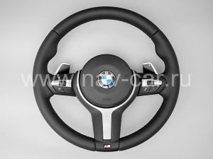 Спортивный M руль BMW X6 F16 с лепестками