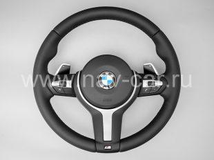 Спортивный М руль BMW 1 серия F20 с лепестками