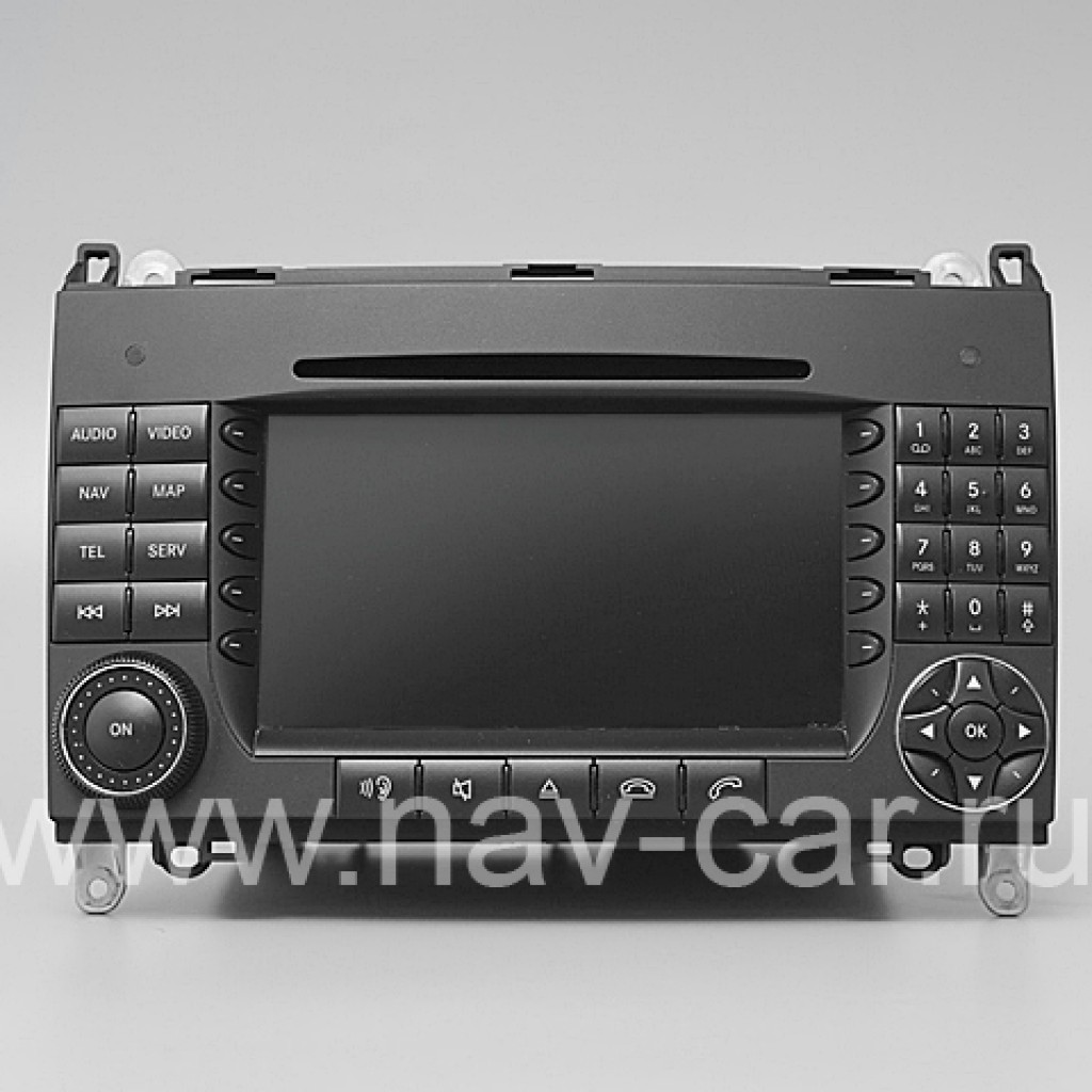 Comand NTG 2 Mercedes A-класс W169