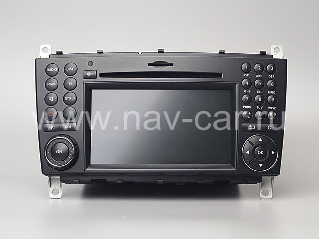 Comand NTG 2.5 Mercedes С класс W203