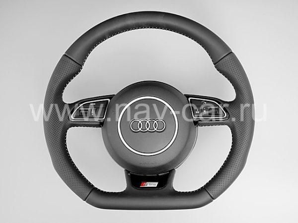 Спортивный руль S-line Audi Q7 4L