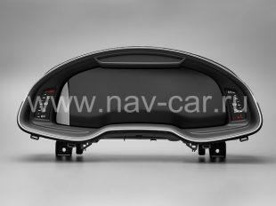 Панель приборов Audi Virtual Cockpit Q7