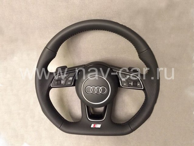 Спортивный руль S-line Audi A4 B9