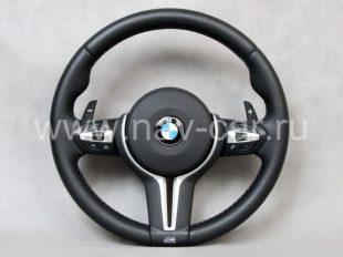 Спортивный M X3 руль BMW F25 с лепестками
