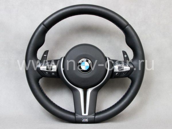 Спортивный M X5 руль BMW F15 с лепестками (руль M X5 F85)