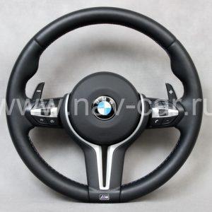 Спортивный M X6 руль BMW F16 с лепестками