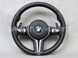 Спортивный M4 руль BMW F32 с лепестками (руль M4 BMW F83)