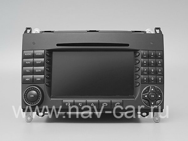Comand NTG 2 Mercedes A класс W169