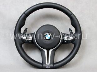 Спортивный M1 руль BMW F20 с лепестками