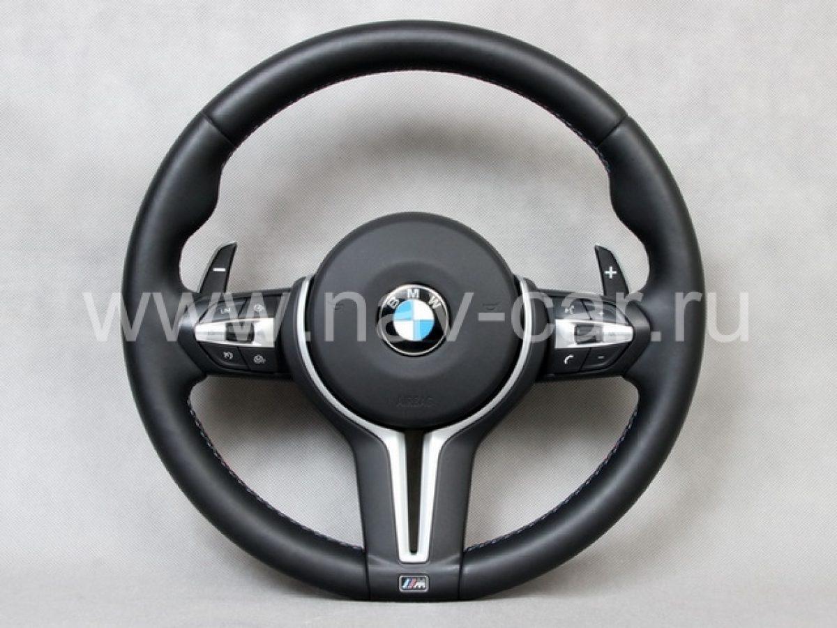 Спортивный M2 руль BMW F22 с лепестками (руль M2 BMW F87)