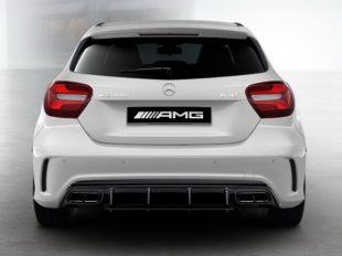 AMG 6.3 обвес Mercedes A класс под Night-пакет