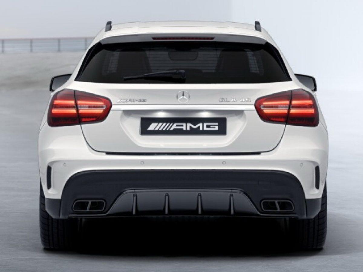AMG обвес Mercedes GLA под Night-пакет