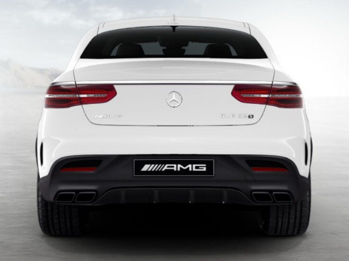 AMG обвес Mercedes GLE под Night-пакет