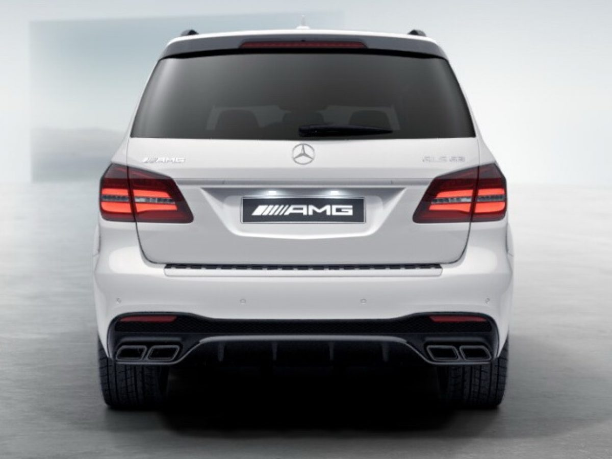 AMG обвес Mercedes GLS под Night-пакет