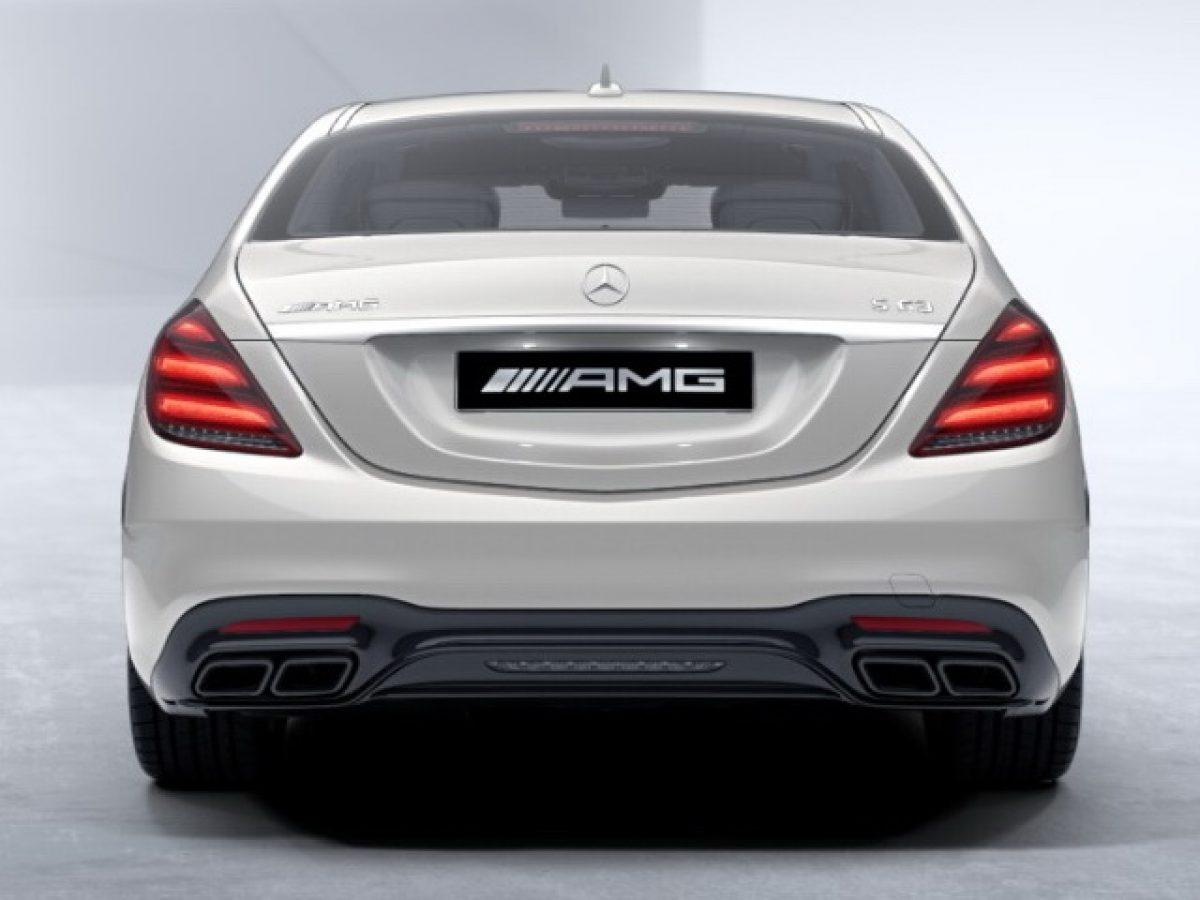 AMG обвес Mercedes S класс под Night-пакет