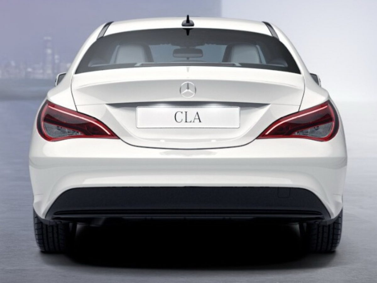AMG 6.3 обвес Mercedes CLA под Night-пакет