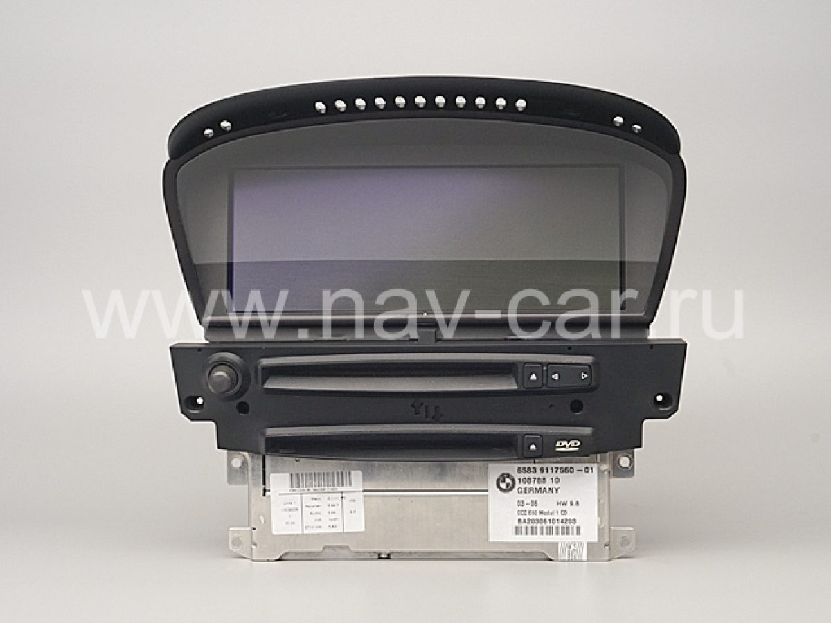 Навигация CCC BMW 5 серия E60
