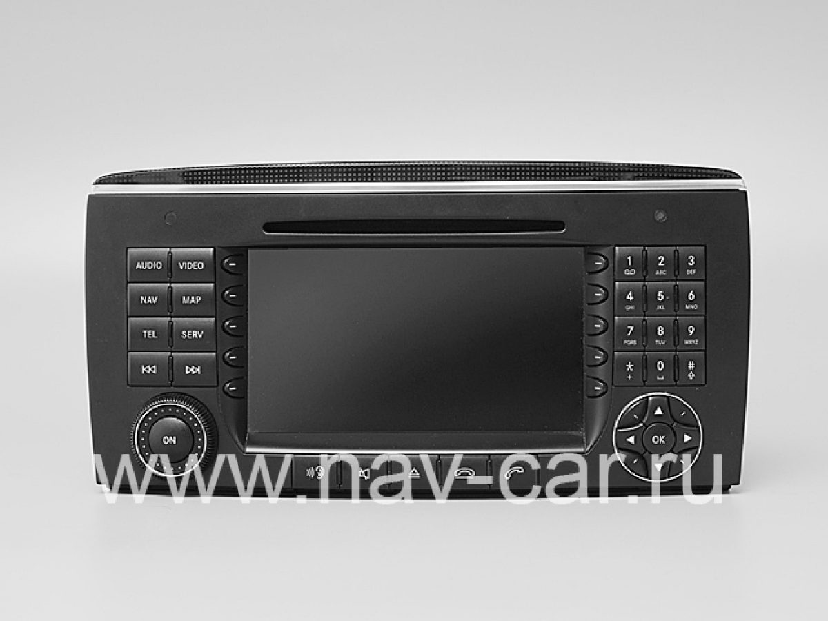 Comand NTG 2 Mercedes R класс W251