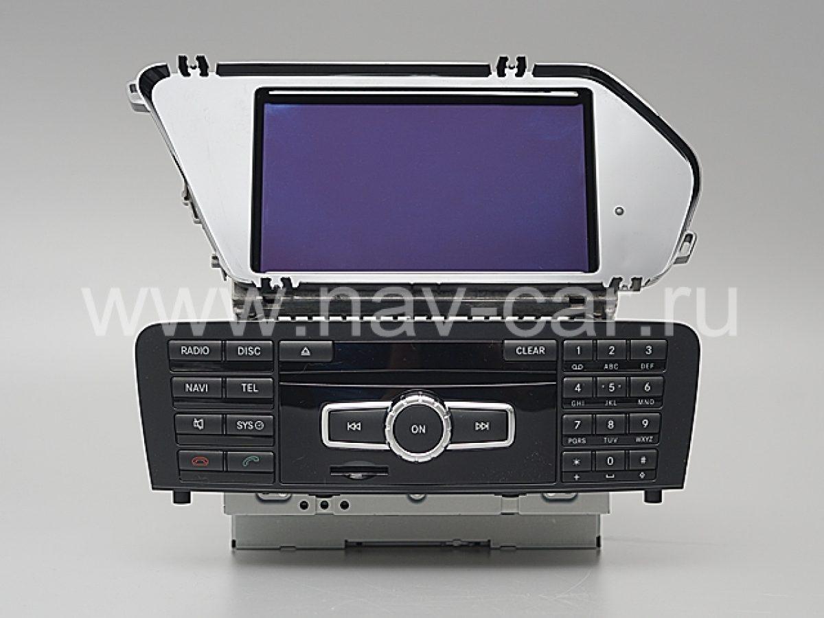 Comand Online NTG 4.5 для Mercedes GLK X204 Рестайлинг
