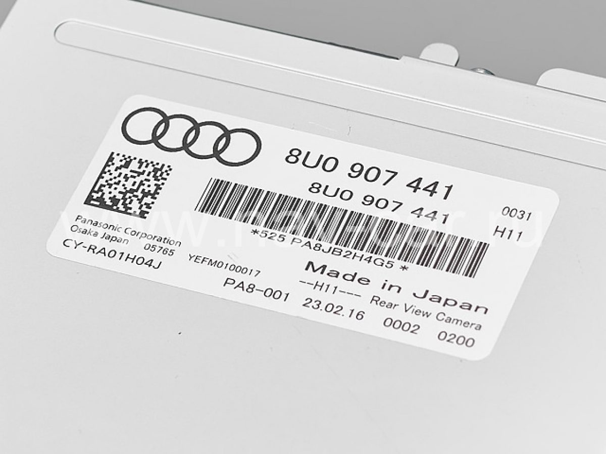 Камера Audi Q3