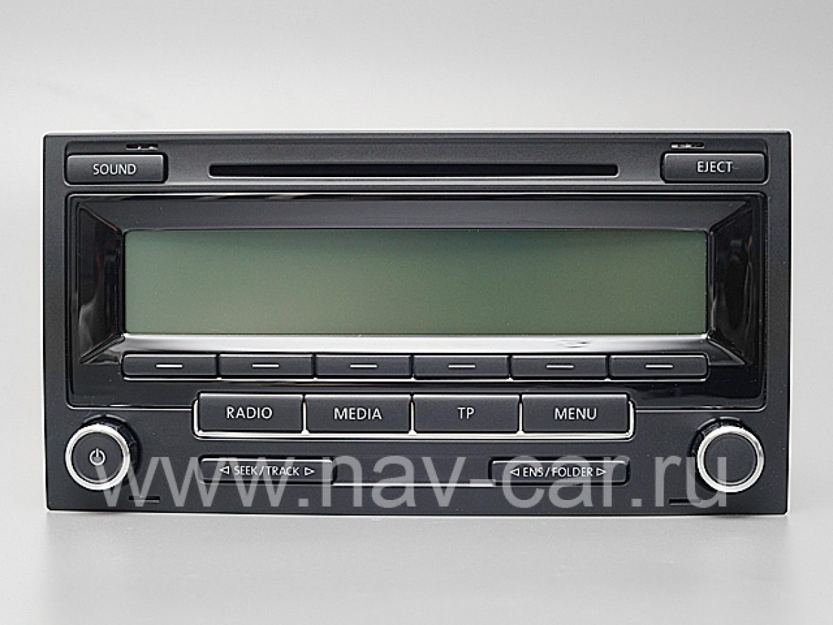 Оригинальная штатная магнитола RCD-310 Multivan T5