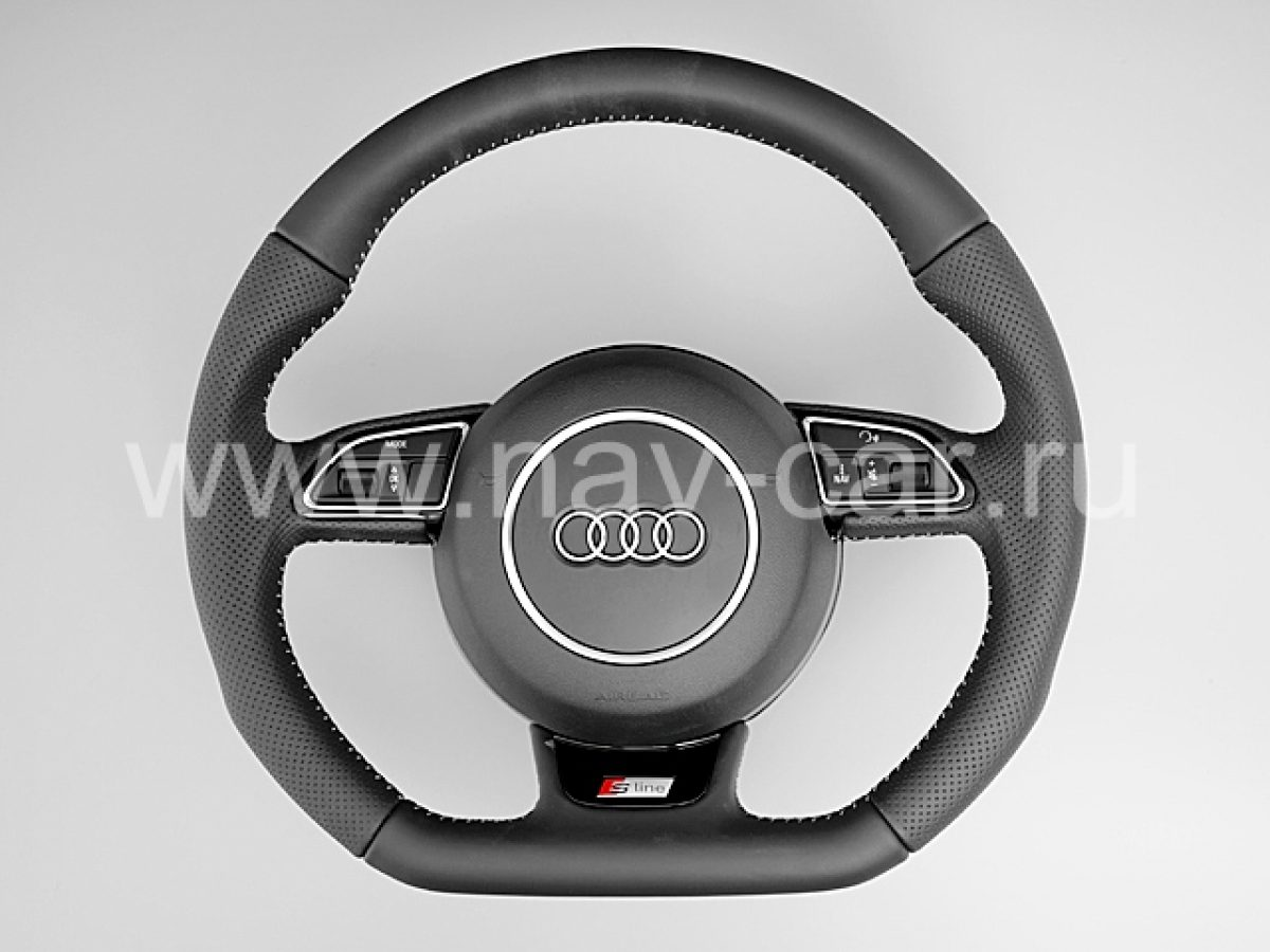 Спортивный руль S-line Audi A4