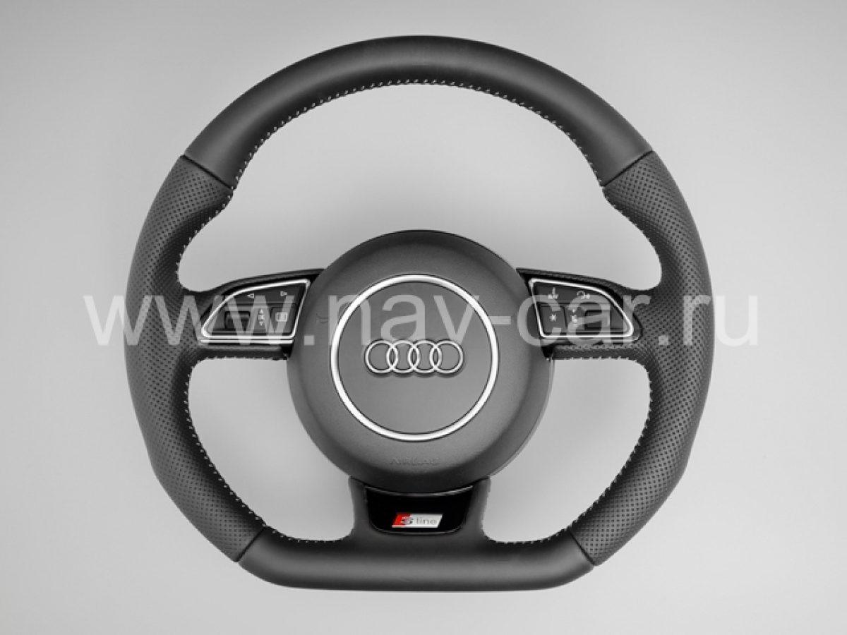 Спортивный руль S-line Audi A6