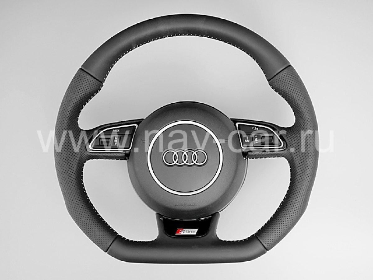 Спортивный руль S-Line Audi Q5