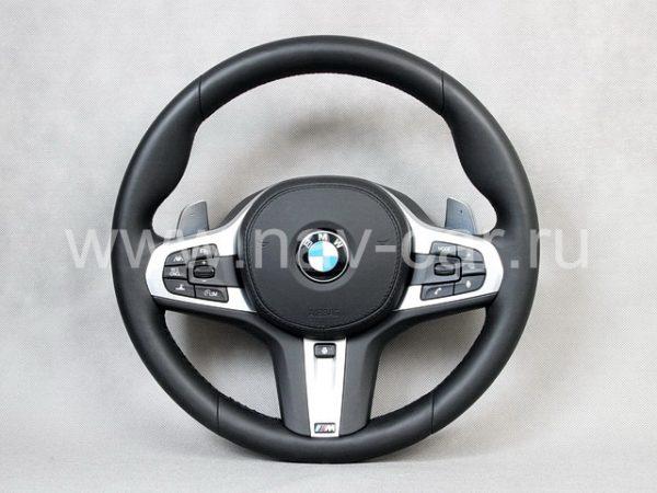 Руль BMW G30 с лепестками