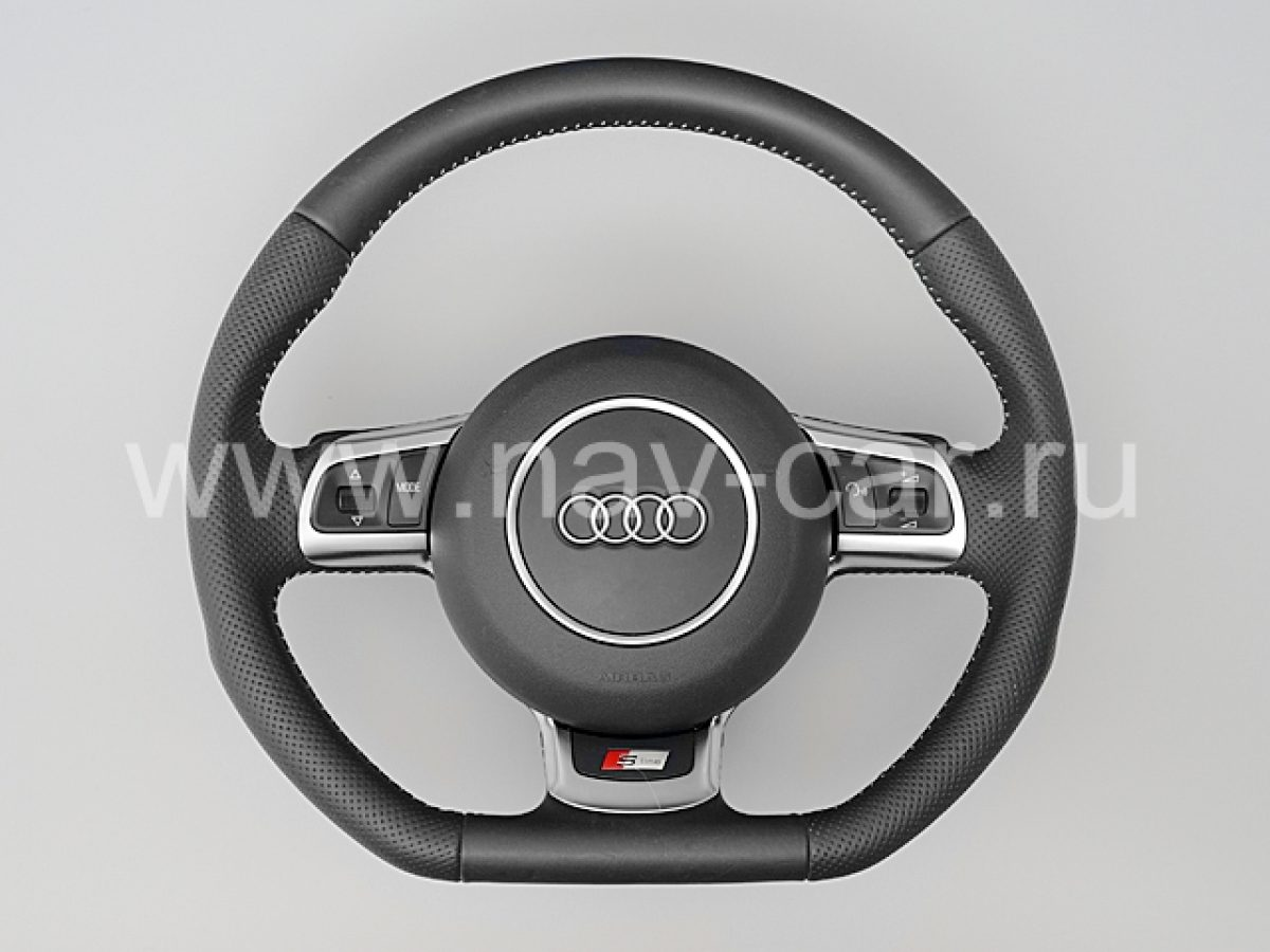Спортивный руль S-Line Audi A6 C6 2007-2012