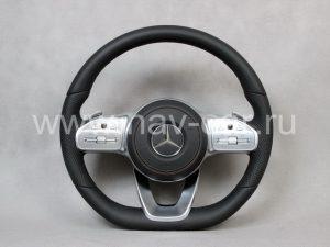 Руль AMG Mercedes S класс W222 Рестайлинг