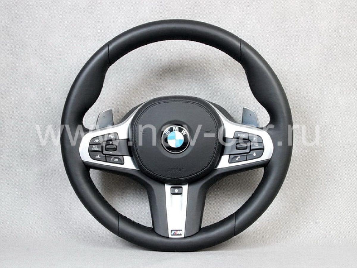 Руль BMW G01 с лепестками