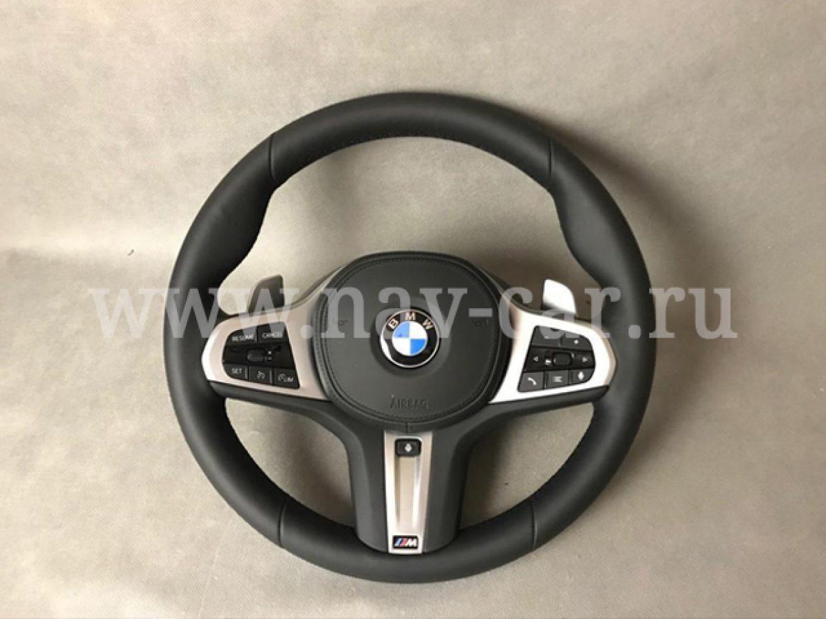Руль BMW G05 с лепестками