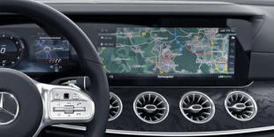 Навигация Mercedes