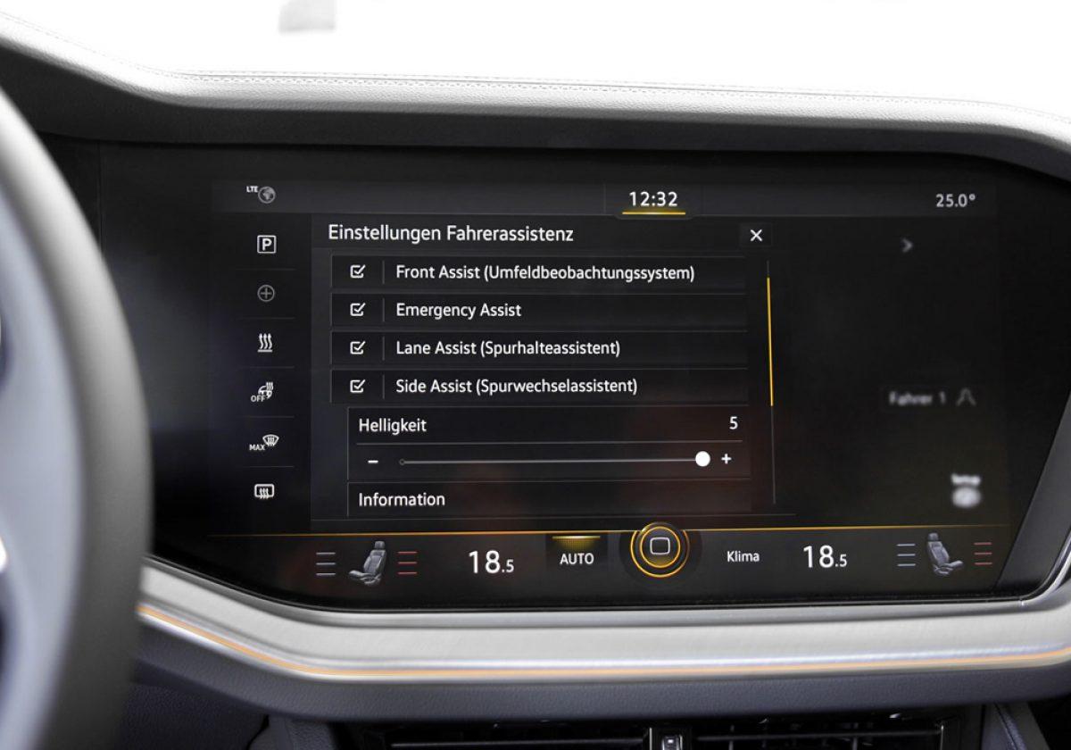 Emergency Assis VW touareg 3 CR